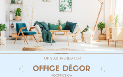 5 Office Décor Trends of 2021