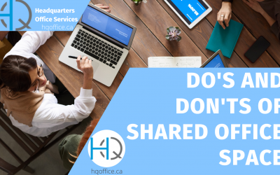 Do's and Don'ts of Shared Office Spaces